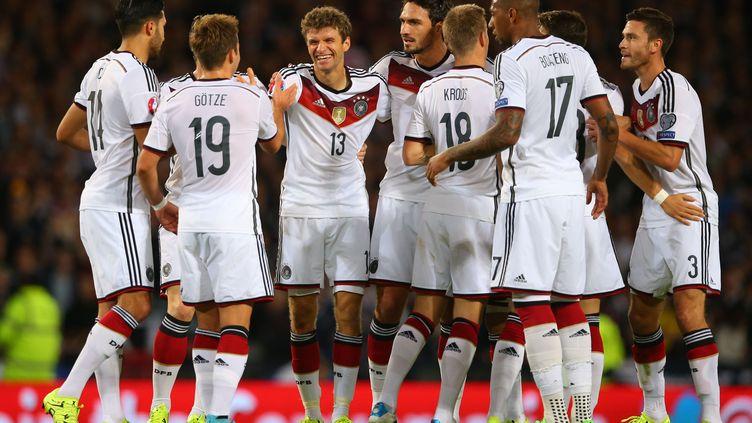 L'équipe d'Allemagne (IAN MACNICOL / AFP)