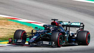 Lewis Hamilton a remporté le 88e Grand Prix de sa carrière. (XAVI BONILLA / XAVI BONILLA)