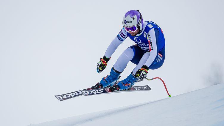 Le Slovène Martin Cater, vainqueur surprise à Val-d'Isère (JOHANN GRODER / EXPA)