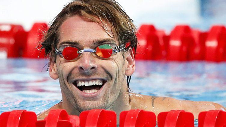 (Camille Lacourt sacré champion du monde sur 50m dos © MAXPPP)