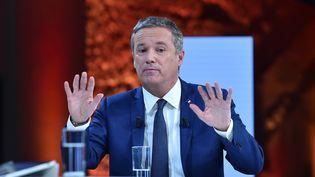 Le candidat à la présidentielleNicolas Dupont-Aignan, le 21 février 2017 à Paris. (MUSTAFA YALCIN / ANADOLU AGENCY)