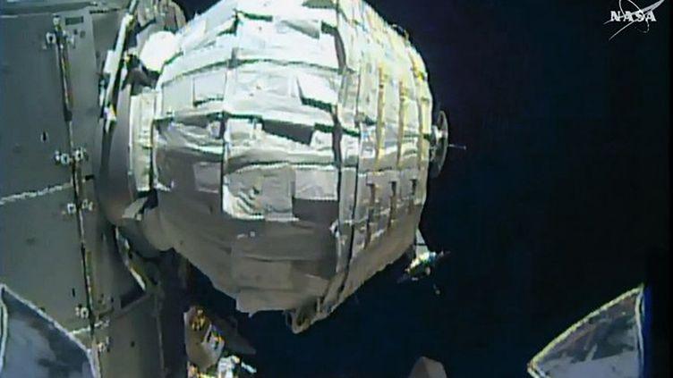 Le module Beam une fois gonflé, le 28 mai 2016. (NASA / AFP)