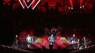 Le boys band One Direction, désormais à quatre,en concertà Cardiff (5 juin 2015)  (JRAA/ZDS/WENN.COM/SIPA)