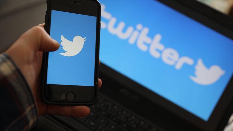 Le réseau socialTwitter (illustration). (VINCENT VOEGTLIN / MAXPPP)