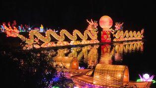 Pour la période des fêtes, le célèbre parc botanique de Nice (Alpes-Maritimes) s'illumine, grâce à plus de 500 lanternes chinoises. (France 2)