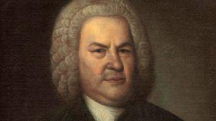 Portrait (détail) de Jean Sébastien Bach par Elias Gottlob Haussmann.  (Leemage)