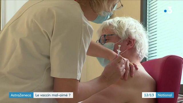Campagne vaccinale : le vaccin AstraZeneca suscite la méfiance de certains patients