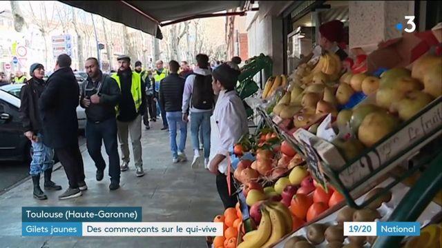 """""""Gilets jaunes"""" : des commerçants sur le qui-vive"""