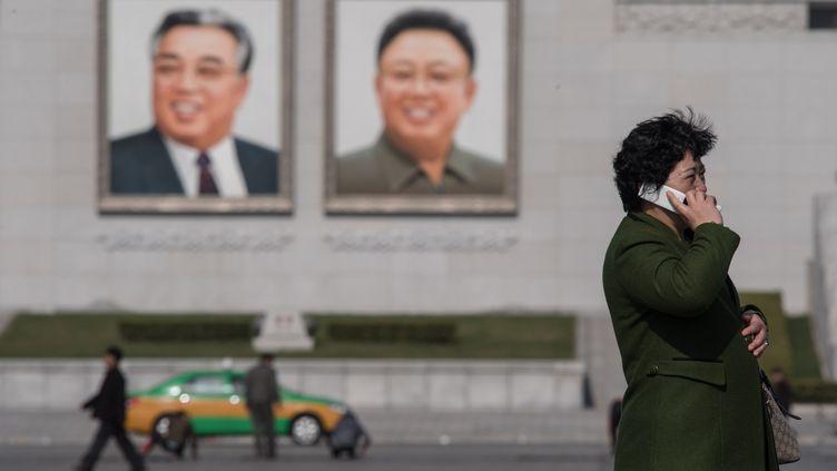 Pyongyang en Corée du Nord, le 9 avril 2017. (ED JONES / AFP)