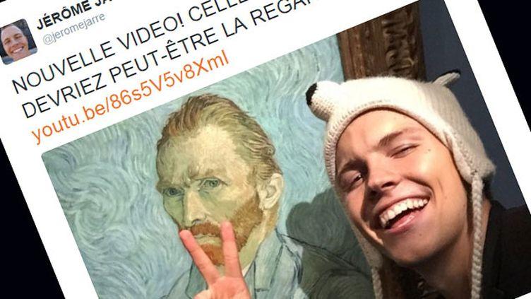 (L'artiste Jérôme Jarre assure avoir passé une nuit seul dans le Musée d'Orsay © Capture d'écran Twitter)