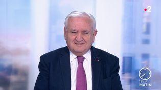 L'ancien Premier ministre Jean-Pierre Raffarin. (France 2)