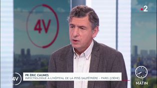 PR Eric Caumes, infectiologue à l'hôpital de la Pitié-Salpêtrière (Paris). (FRANCE 2)