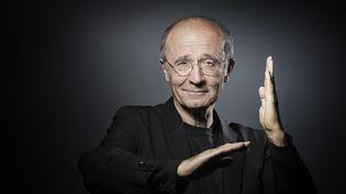 """""""Le Chat"""", le célèbre félin créé par le dessinateur belge Philippe Geluck, revient avec un nouvel album tiré à 300 000 exemplaires. (JOEL SAGET / AFP)"""