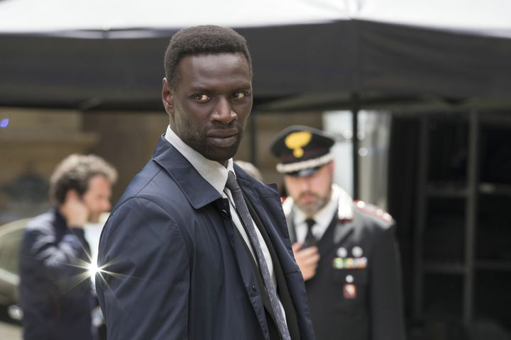 """Omar Sy dans """"Inferno""""  (Sony Pictures)"""
