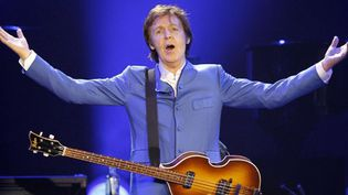 Paul McCartney, 30 novembre 2011 à Bercy Paris.  (Patrick Kovarik - AFP)