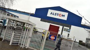 Le PDG d'Alstom Henri Poupart-Lafarge estime que le site de Valenciennes peut être confiant pour l'avenir. (THOMAS LO PRESTI / MAXPPP)