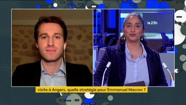 Coronavirus: la visite d'Emmanuel Macron à Angers pour expliquer une stratégie