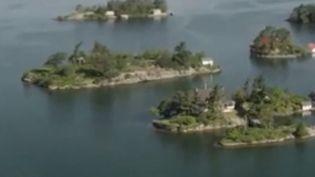 """États-Unis : à la découverte de l'archipel des """"mille îles"""" (FRANCE 2)"""
