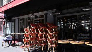 Une terrasse de restaurant à Paris. (BERTRAND GUAY / AFP)