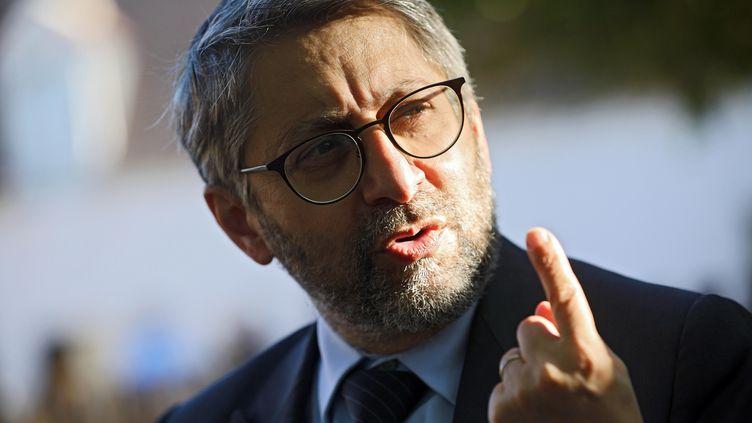 Le Grand rabbin de FranceHaim Korsia, le 4 septembre 2020. (JDUTAC / MAXPPP)