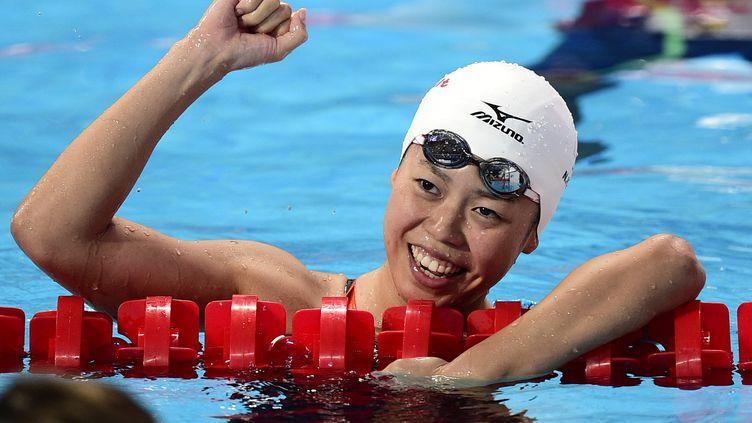 La joie de Natsumi Hoshi (MARTIN BUREAU / AFP)