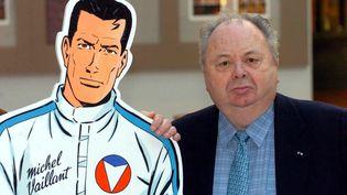L'auteur de bande dessinée Jean graton, créateur de Michel Vaillant, le 14 janvier 2005 (HERWIG VERGULT / BELGA)
