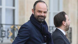 Le Premier ministre, Edouard Philippe, le 6 février 2019 à Paris. (LUDOVIC MARIN / AFP)