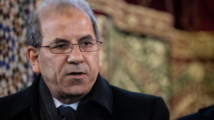 Mohammed Moussaoui, président du CFCM, à Paris, le 22 mars 2019. (KENZO TRIBOUILLARD / AFP)