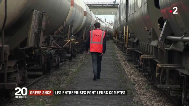 Grève SNCF : les entreprises de transport de marchandises sont à l'arrêt