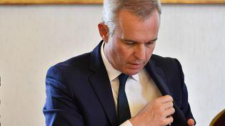 François de Rugy, alors ministre de la Transition écologie et solidaire, le 11 juillet 2019, à Niort (Deux-Sèvres). (GEORGES GOBET / AFP)