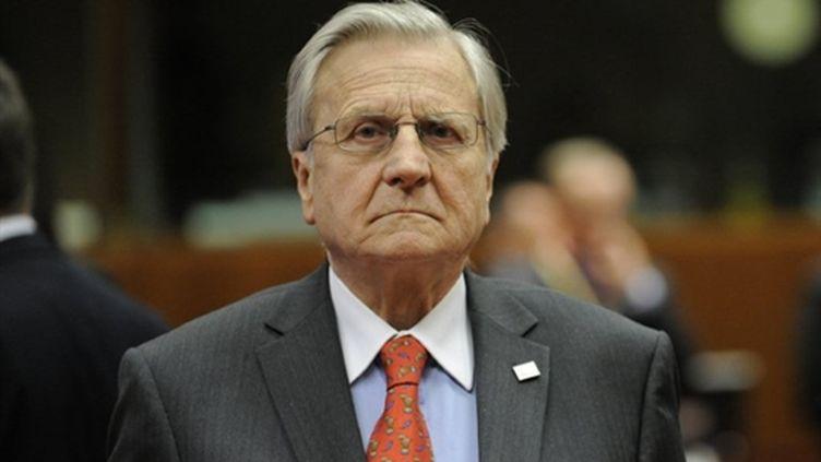 Jean-Claude Trichet, lors de l'ouverture du sommet de l'UE, à Bruxelles, le 24 mars 2011 (AFP/John THYS)