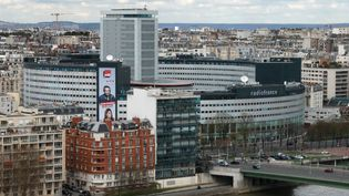 Le siège de Radio France, le 10 avril 2018 à Paris. (JACQUES DEMARTHON / AFP)