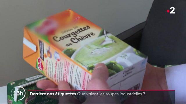 Alimentation : que contiennent vraiment les soupes industrielles ?