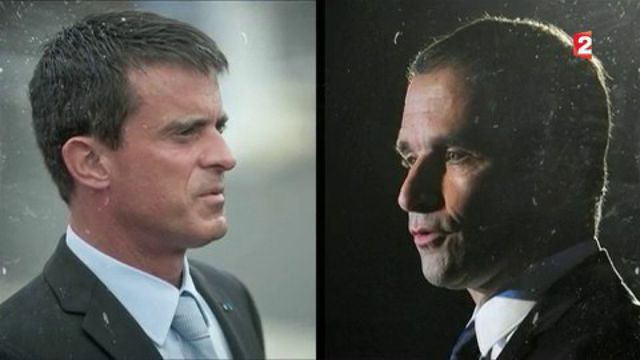 Primaire à gauche : le ton se durcit entre Manuel Valls et Benoît Hamon