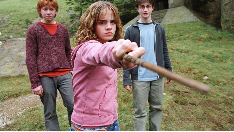 """Les aventures de Harry Potter et ses amis Ron et Hermione seraient l'incarnation du Mal, selon l'exorciste officiel du Vatican, dans un article du """"Telegraph"""" publié le 25 novembre 2011. (LILO / SIPA)"""