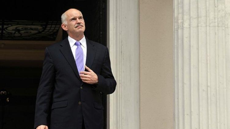 George Papandréou, le Premier ministre grec. (AFP - Louisa Gouliamaki)