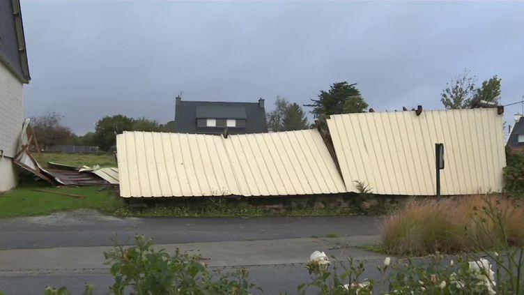 Tempête Aurore : de puissantes rafales de vent ont frappé le pays. (FRANCE 2)