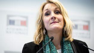 Alice Thourot, députée LREM de la Drôme, le 29 janvier 2019. (ALEXIS SCIARD  / MAXPPP)