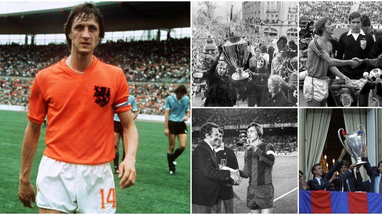 La carrière de Johan Cruyff en images.