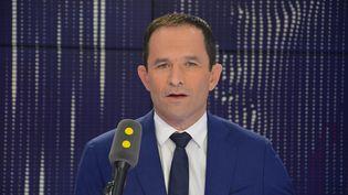 Benoit Hamon, membre fondateur de Génération-s, ancien candidat socialiste à la présidentielle. (JEAN-CHRISTOPHE BOURDILLAT / RADIO FRANCE)