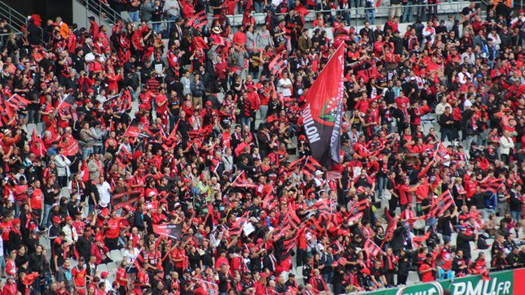 Les supporteurs du RCT en nombre au Stade de France