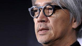 Ryuichi Sakamoto, musicien et meneur du mouvement anti-nucléaire nippon.  (Kazuhiro Nogi / AFP)