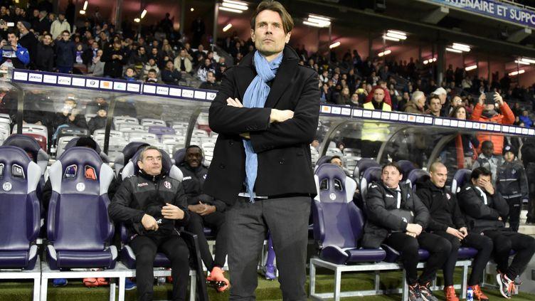Dominique Arribagé n'aura pas terminé la saison à Toulouse  (PASCALPAVANI / AFP)