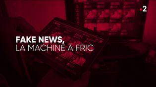 """""""Complément d'enquête"""". Fake news, la machine à fric (COMPLÉMENT D'ENQUÊTE/FRANCE 2)"""