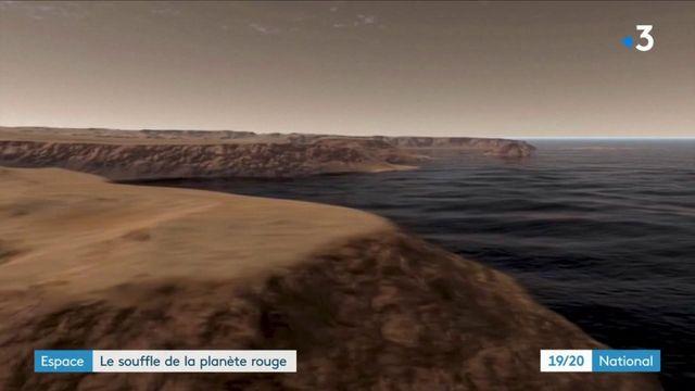 Espace : les images et le son de amarsissage de Perseverance sur Mars