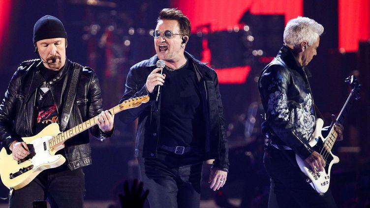 U2 en concert en septembre 2016 à Las Vegas  (: John Salangsang/AP/SIPA)