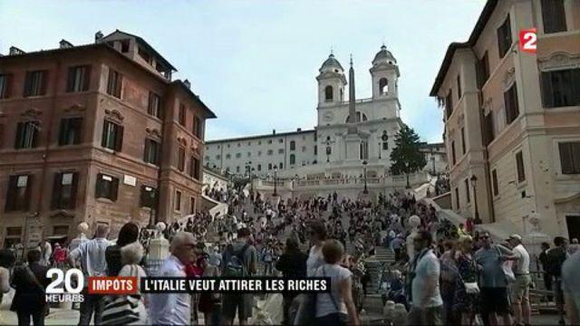 L'Italie veut attirer les riches