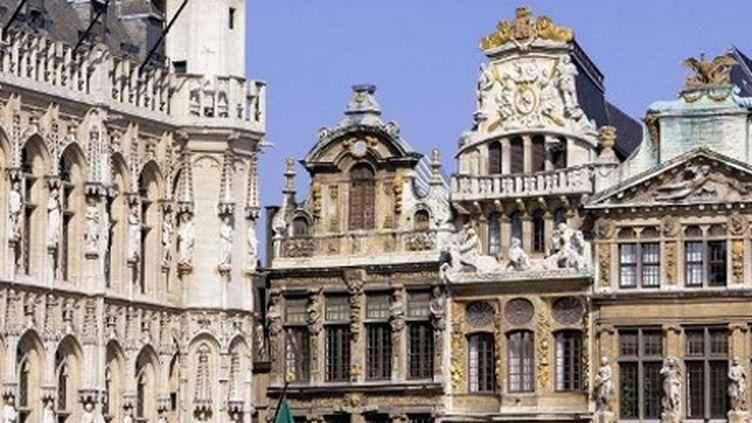 Sur la Grand'Place, dans le centre historique de Bruxelles (8-7-2008) (AFP - Hemis.fr - Bertrand Gardel)