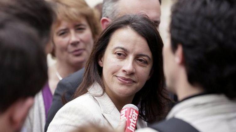 Cécile Duflot à l'Assemblée nationale le 19 juin à Paris (KENZO TRIBOUILLARD / AFP)