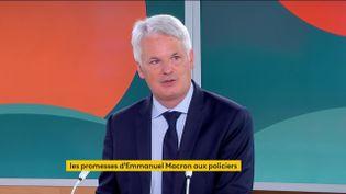 Alexandre Touzet, chargé de mission pour l'Association des maires de France, le 14 septembre sur franceinfo. (FRANCEINFO)